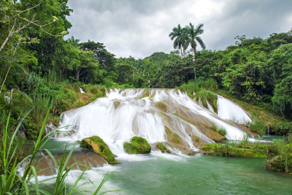 El Nicho waterfall in Cuba
