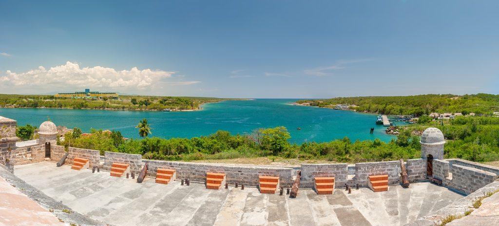 Jagua Fortress on Carribean Strait
