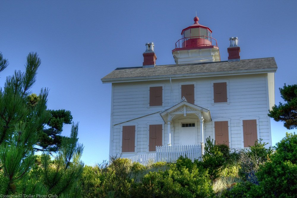 Yaquina Bay Lighthouse Oregon