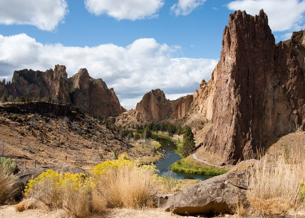 Smith Rock State Park in the Spring