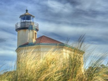 Coquille River Lighthouse, Oregon 1896