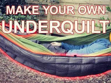 DIY Hammock Underquilt Plans for Camping and Backpacking